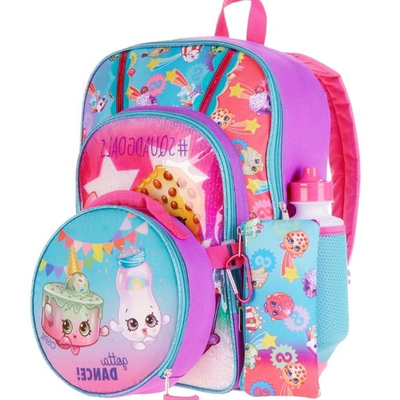 1e6a9511cbd Accessories   New Shopkins Backpack Set Lunch Bag Girls   Poshmark